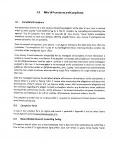 Title VI Complaint Procedures